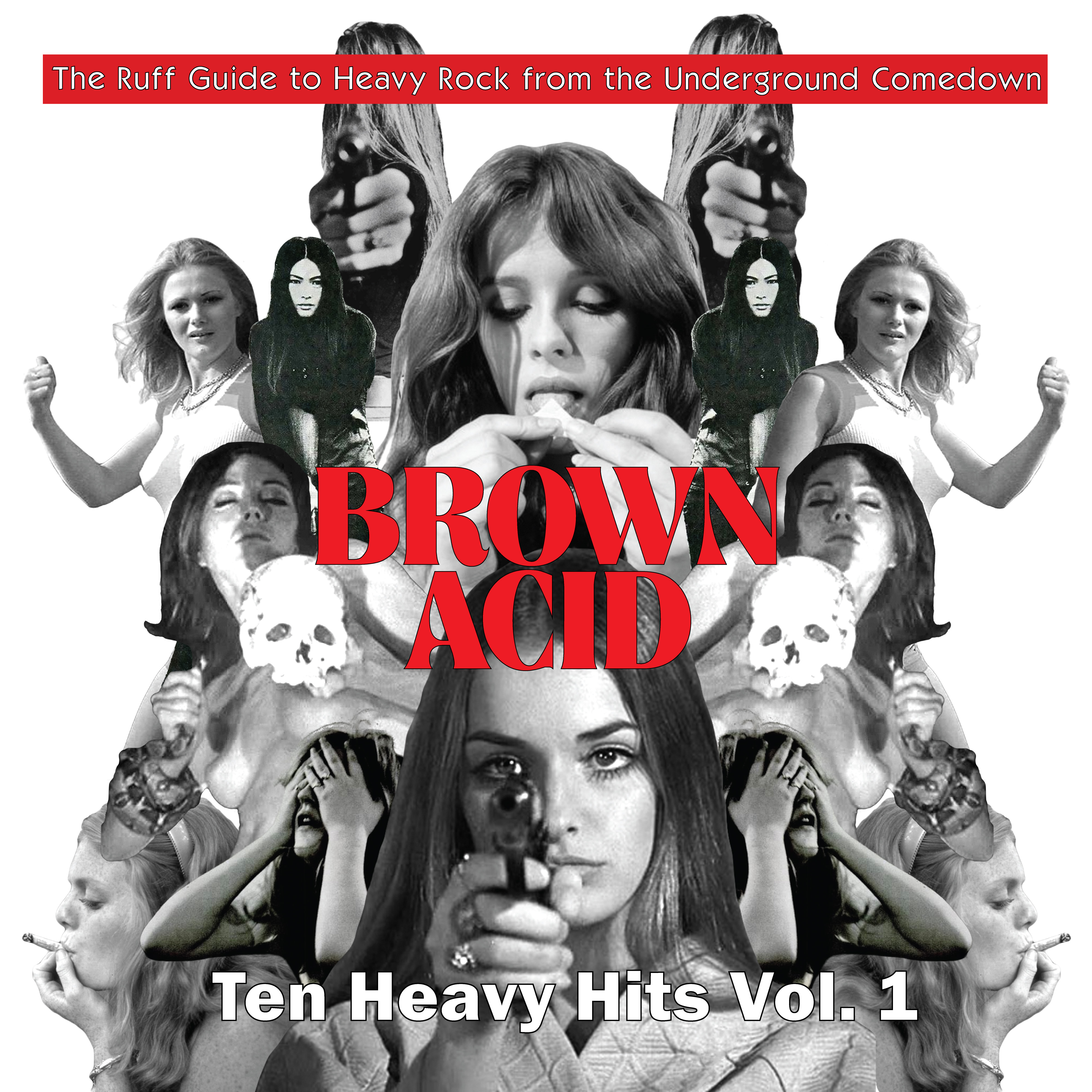 Various Artists - Brown Acid - Ten Heavy Hits Vol. 1 [RSD Drops 2021]