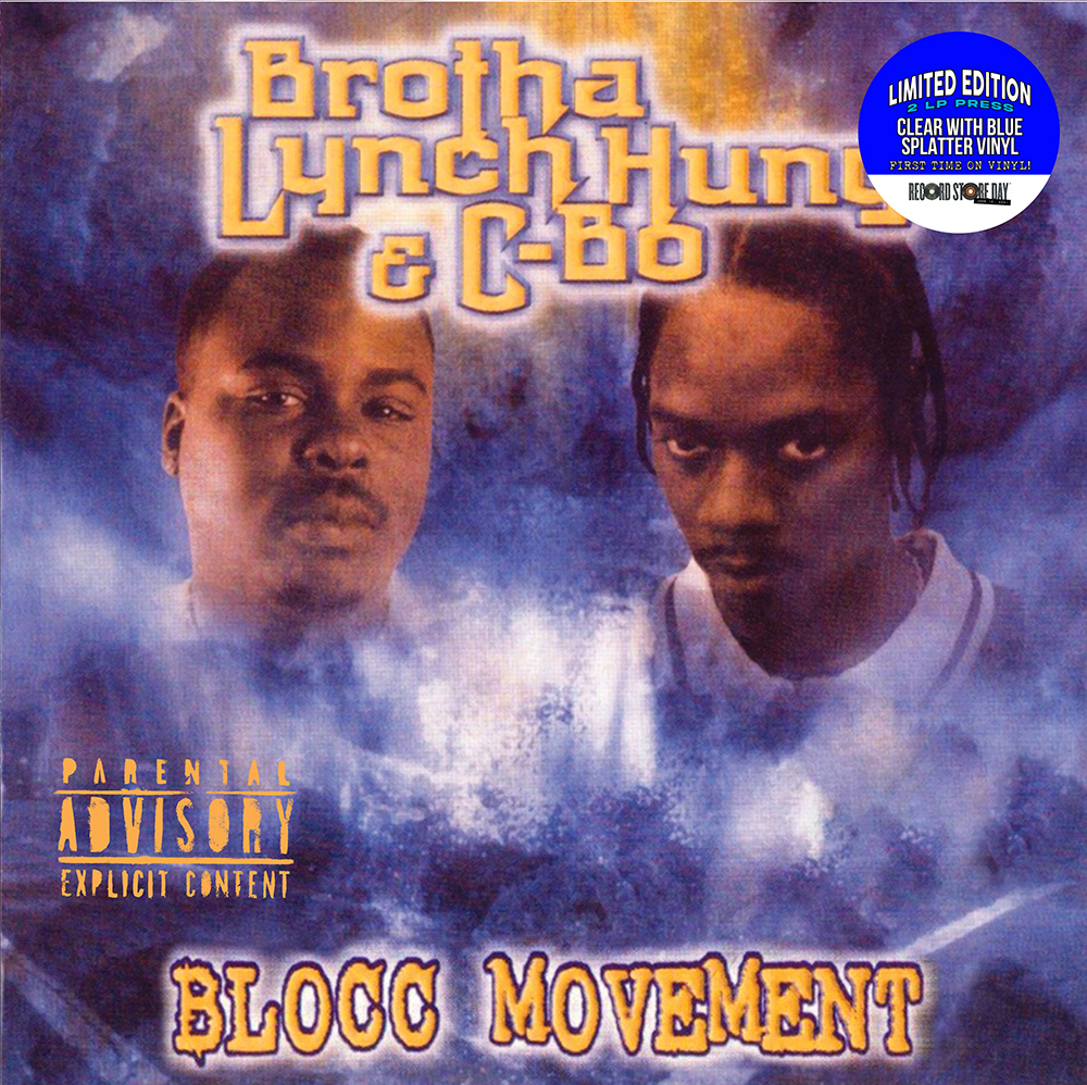 Brotha Lynch Hung / C-Bo - Blocc Movement (Rsd) (Blue) [Clear Vinyl] [Record Store Day] [RSD Drops 2021]