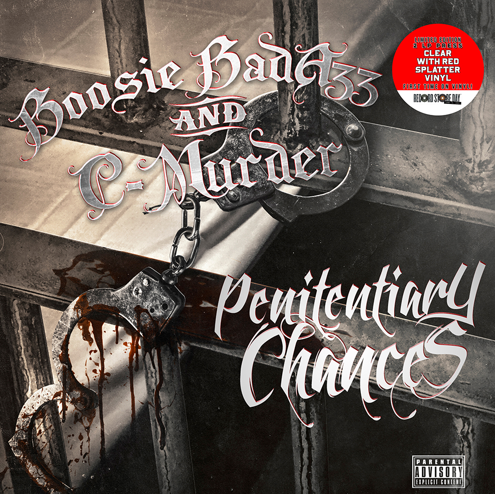 C-Murder / Boosie Badazz - Penitentiary Chances (Rsd) [Clear Vinyl] (Red) [Record Store Day] [RSD Drops 2021]