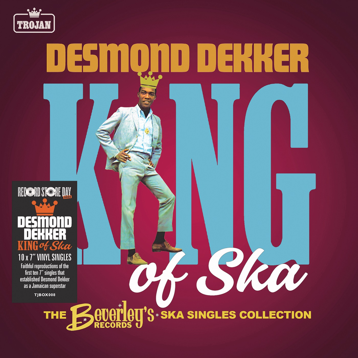 Desmond Dekker - King of Ska: The Early Singles Collection, 1963 - 1966 [RSD Drops 2021]