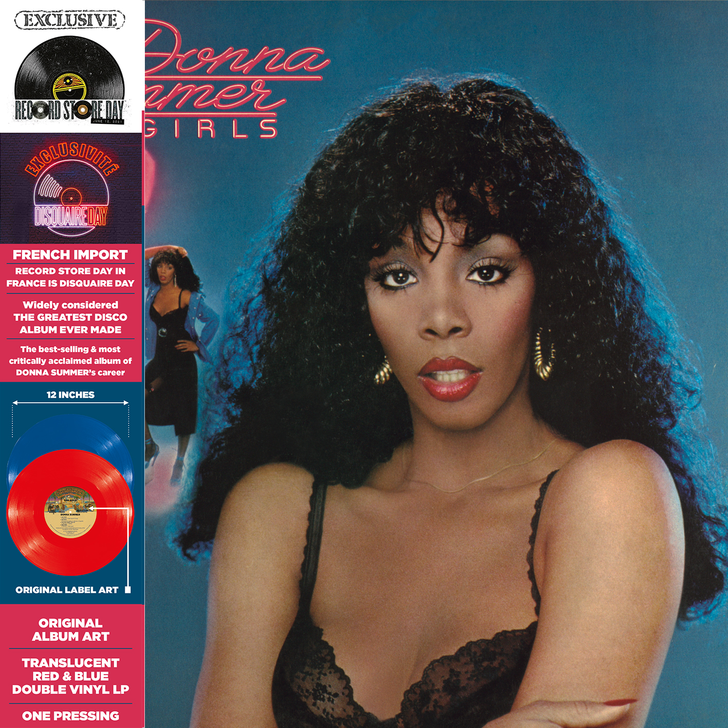 Donna Summer - Bad Girls (Rsd) (Blue) (Red) [Record Store Day] [RSD Drops 2021]