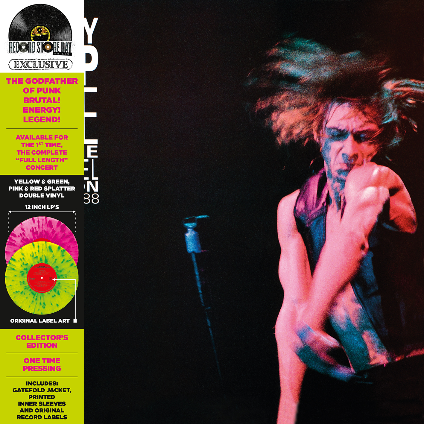 Iggy Pop - Live At The Channel Boston [RSD Drops 2021]