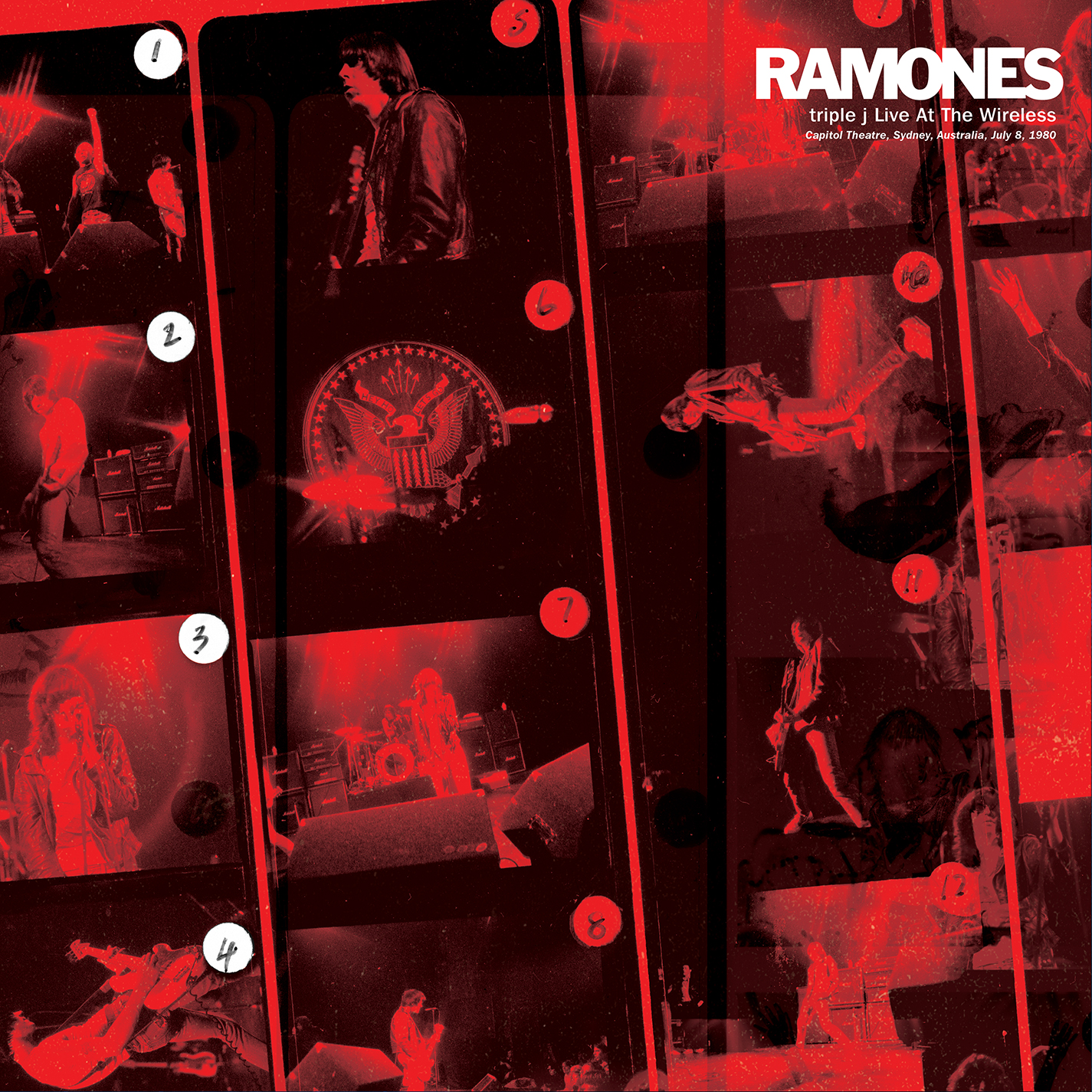 Ramones - triple J Live at the Wireless Capitol Theatre, Sydney, Australia, July 8, 1980 [RSD Drops 2021]