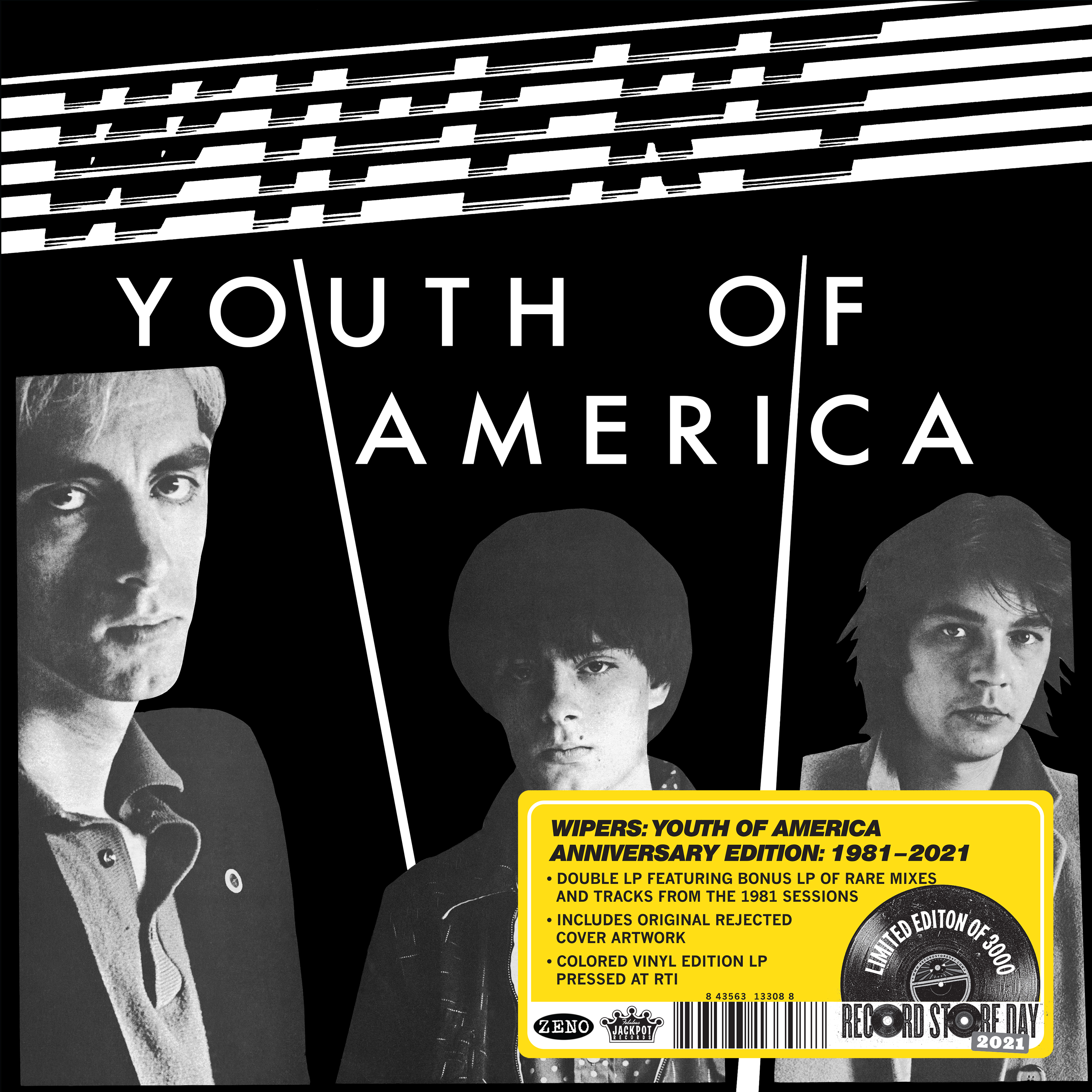 Wipers - Youth of America -- Anniversary Edition [RSD Drops 2021]