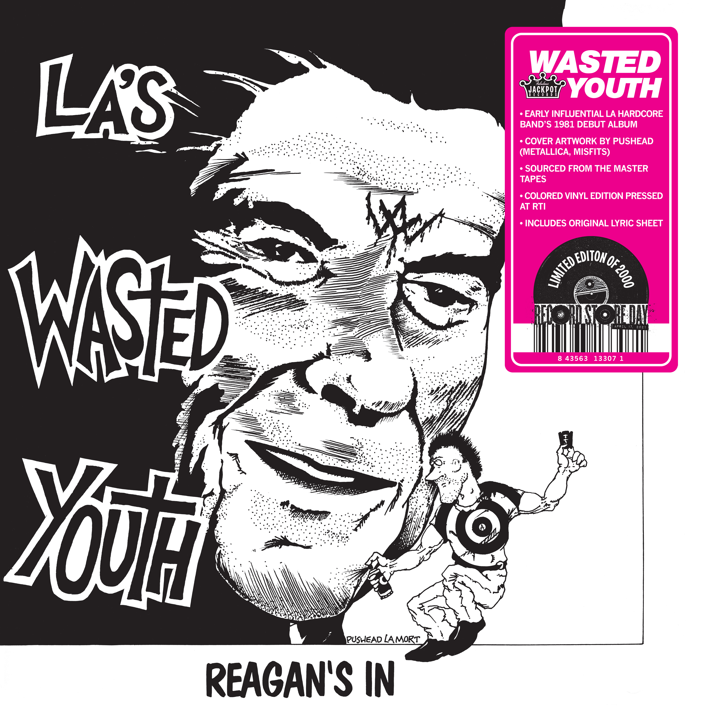 Wasted Youth - Reagan's in  [RSD Drops 2021]