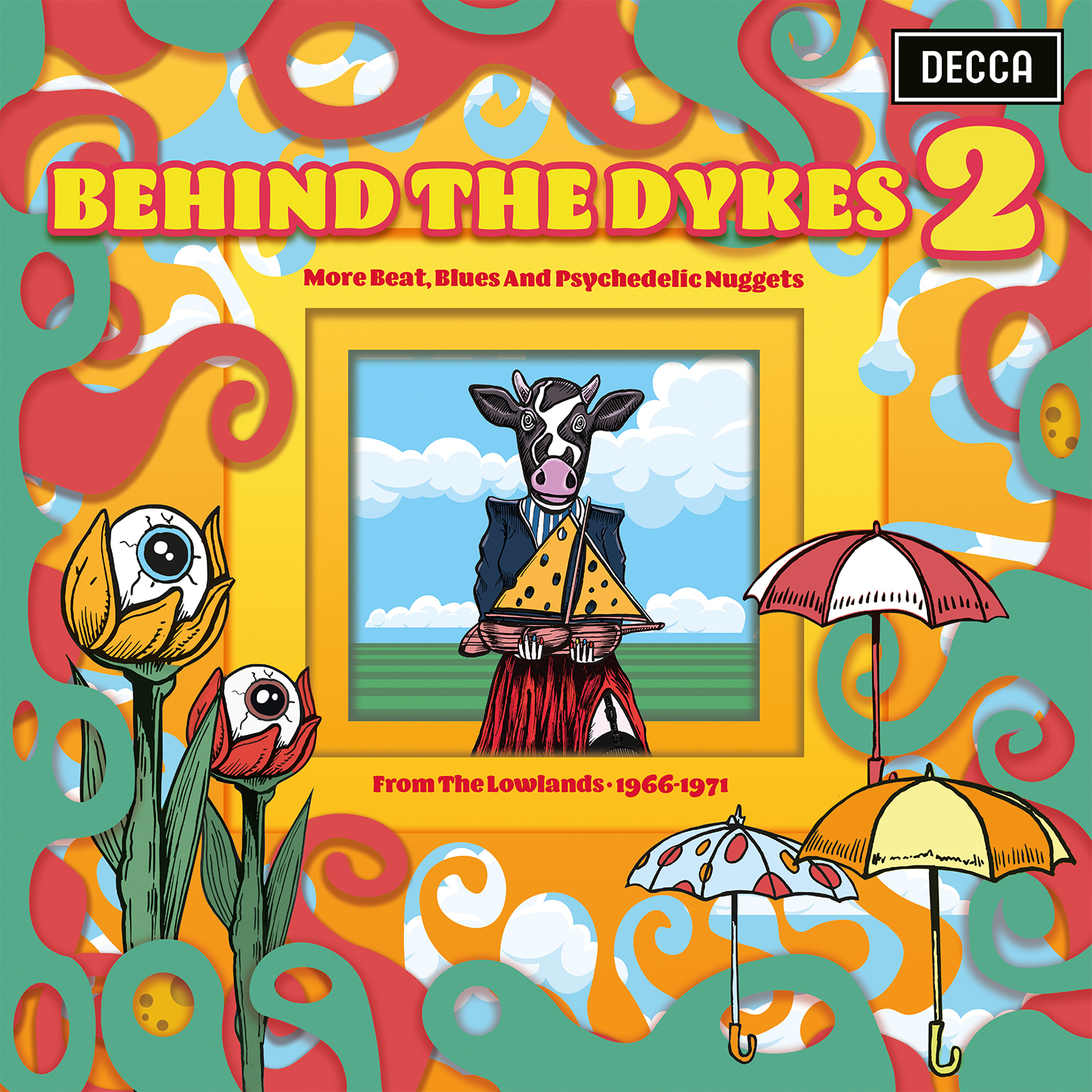Various Artists - Behind The Dykes 2: More Beat, Blues And Psychedelic Nuggets From The Lowlands 1966-1971 [RSD Drops 2021]