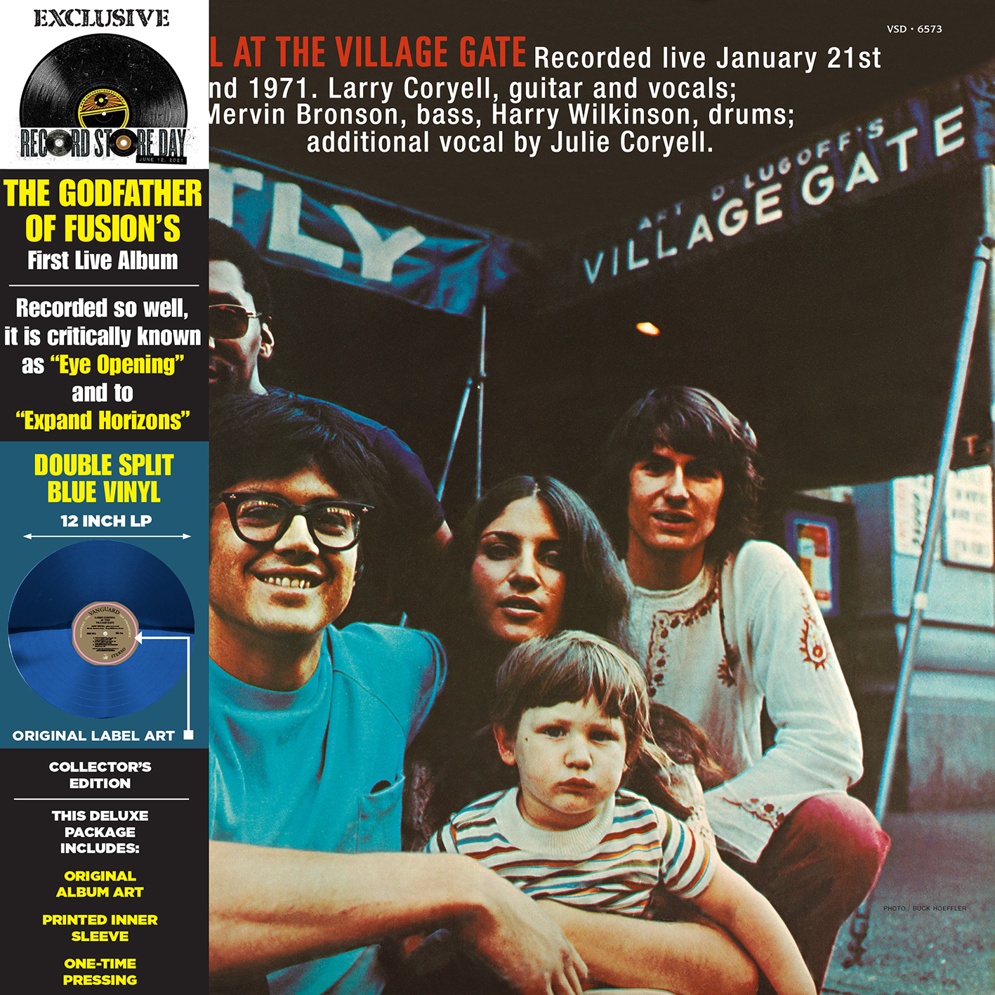 Larry Coryell - At The Village Gate (Rsd) (Blue) [Record Store Day] [RSD Drops 2021]