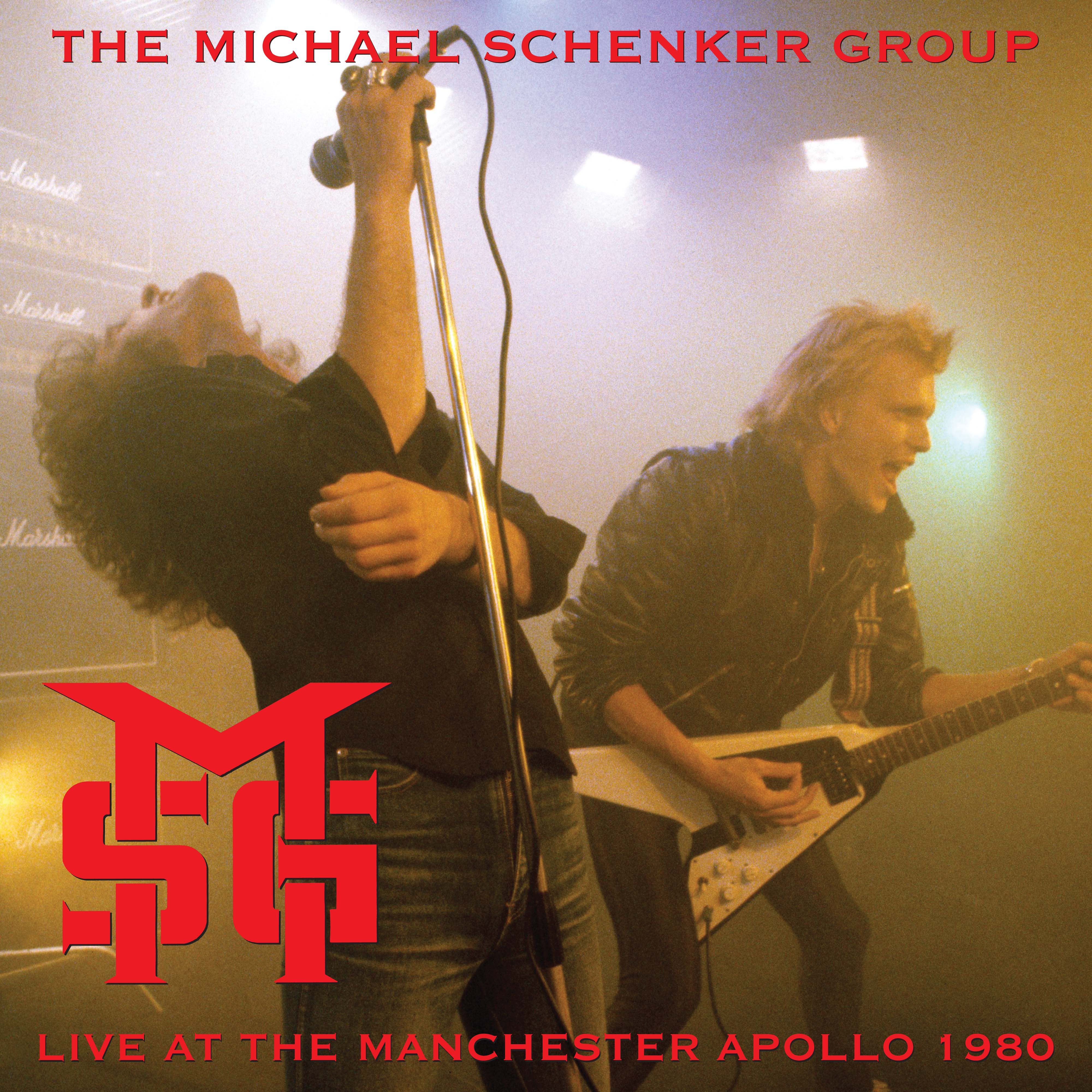 Michael Schenker Group - Live In Manchester 1980 (Rsd) (Red) [Record Store Day] [RSD Drops 2021]