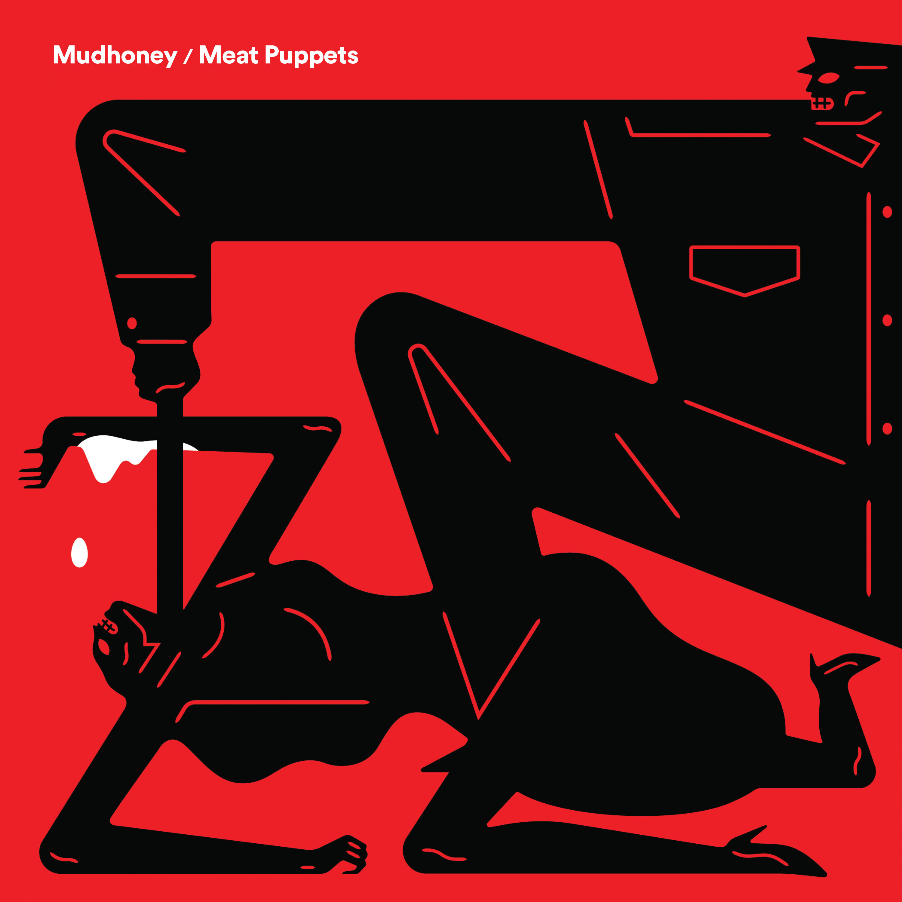 Mudhoney / Meat Puppets - Warning / One Of These Days (Rsd) [Record Store Day] [RSD Drops 2021]