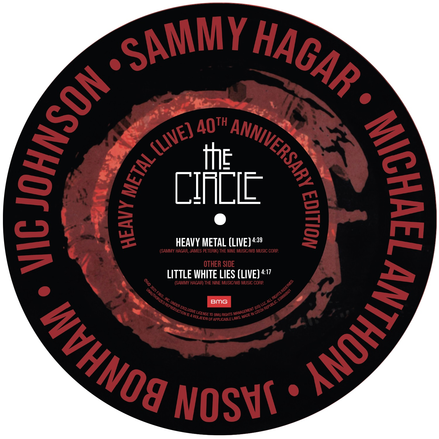 Sammy Hagar & The Circle - Heavy Metal (Live)  [RSD Drops 2021]