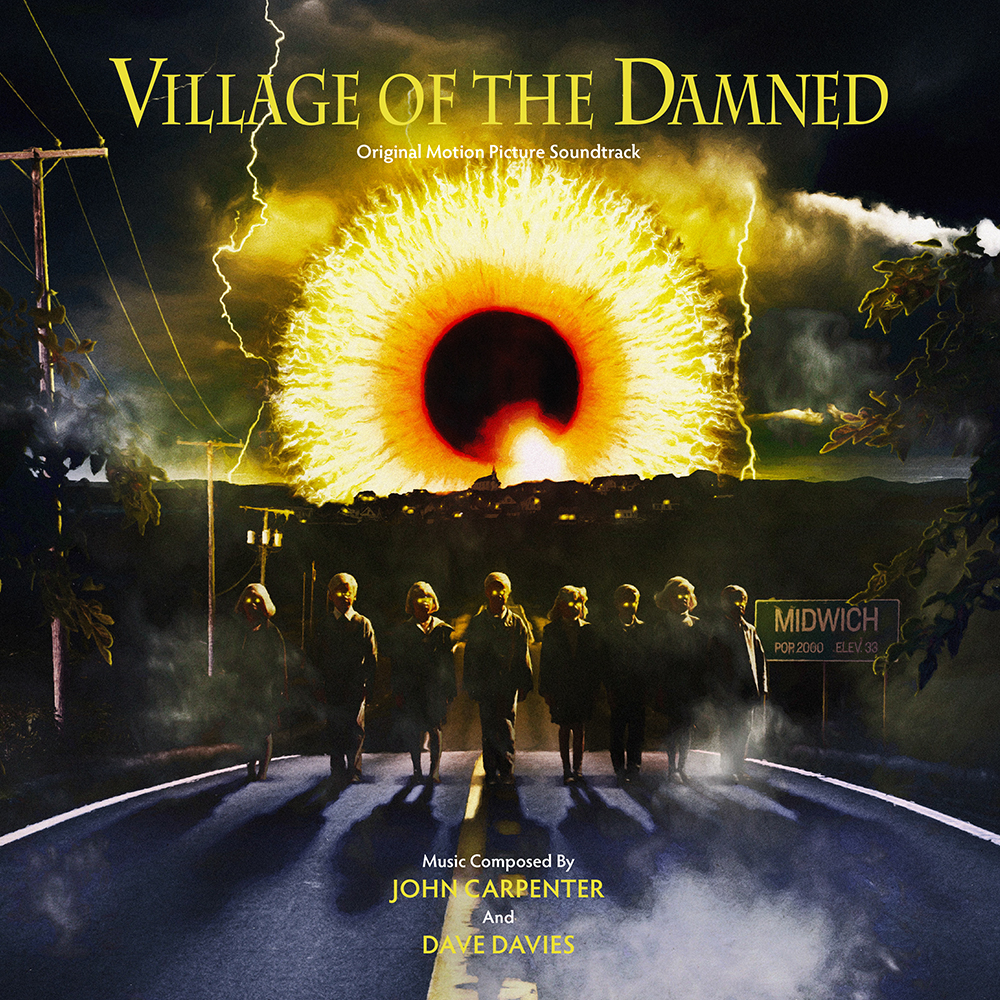 John Carpenter/Dave Davies - Village Of The Damned (Original Motion Picture Soundtrack) [RSD Drops 2021]