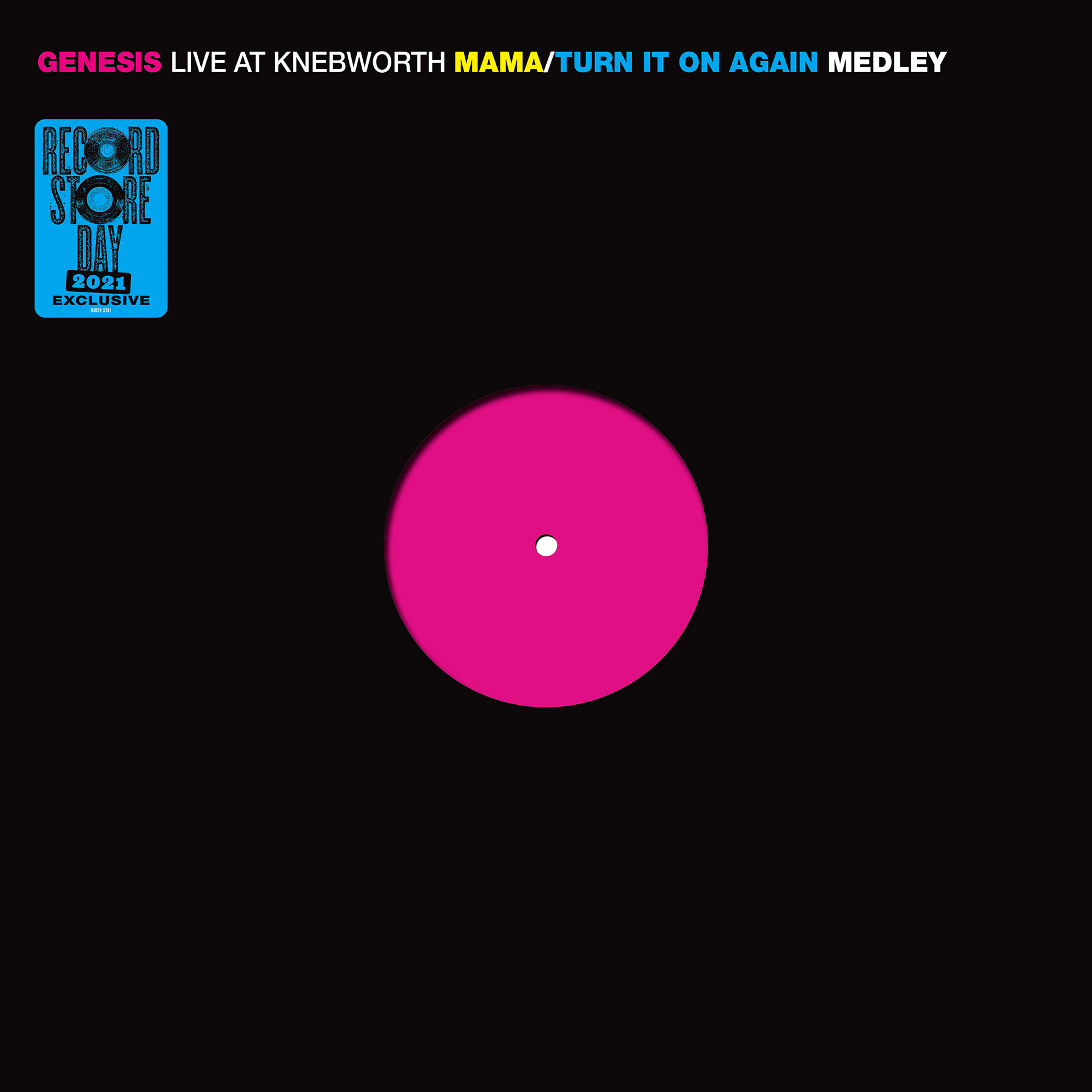 Genesis - Live at Knebworth 1990 [RSD Drops 2021]