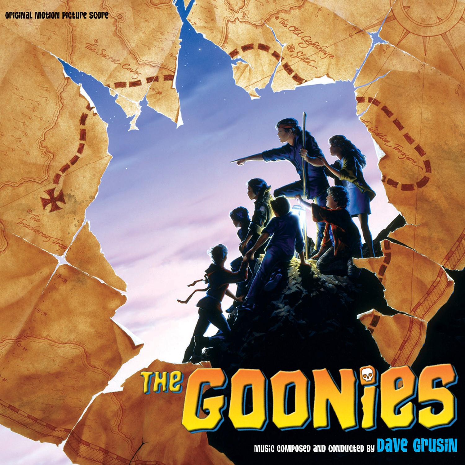 Dave Grusin Pict Rex - The Goonies (Original Motion Picture Score) [One-Eyed Willie Picture Disc] [RSD Drops 2021]