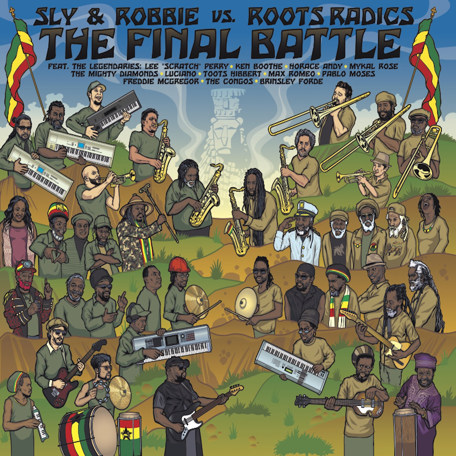 Sly & Robbie, Roots Radics - The Final Battle: Sly & Robbie vs. Roots Radics [RSD Drops 2021]