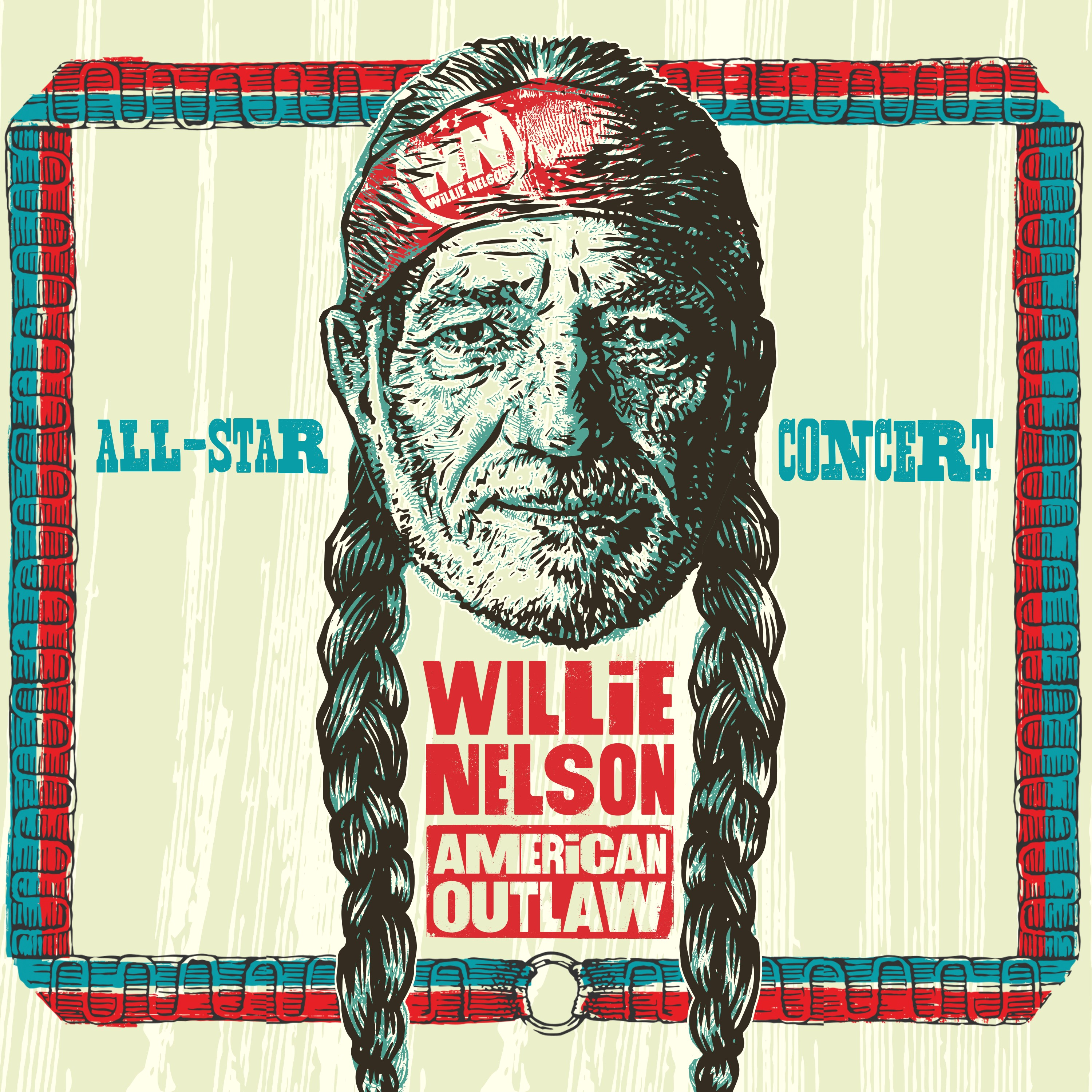 Various Artists - Willie Nelson American Outlaw (Live At Bridgestone Arena / 2019)  [RSD Drops 2021]