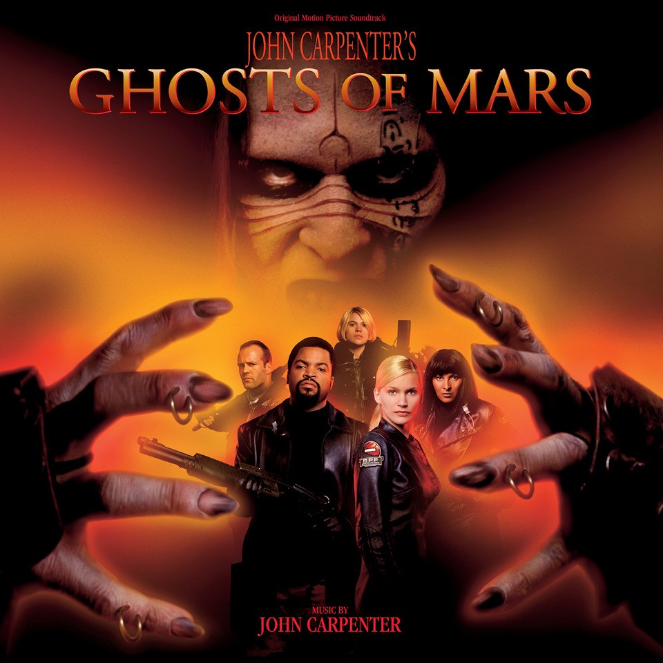 John Carpenter - Ghosts of Mars (Original Motion Picture Soundtrack) [RSD Drops 2021]