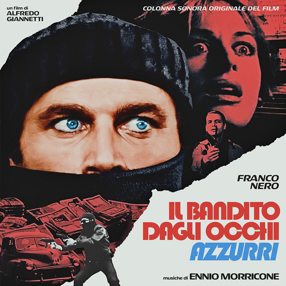 Ennio Morricone - The Blue-Eyed Bandit (Il bandito dagli occhi azzurri) (Original Motion Picture Soundtrack) [RSD Drops 2021]
