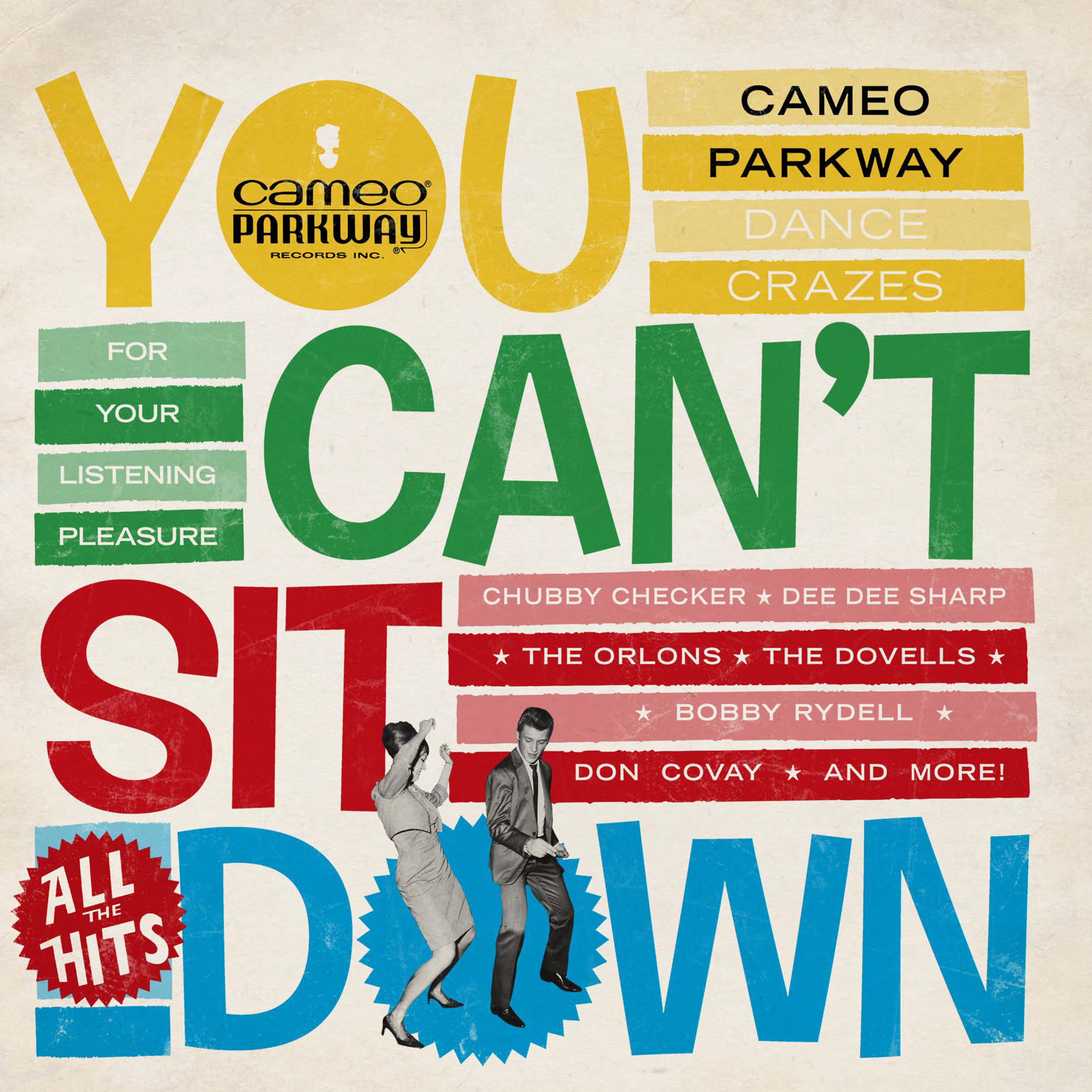 Various Artists - You Can't Sit Down: Cameo Parkway Dance Crazes 1958-1964 (U.K. Collection)  [RSD Drops 2021]