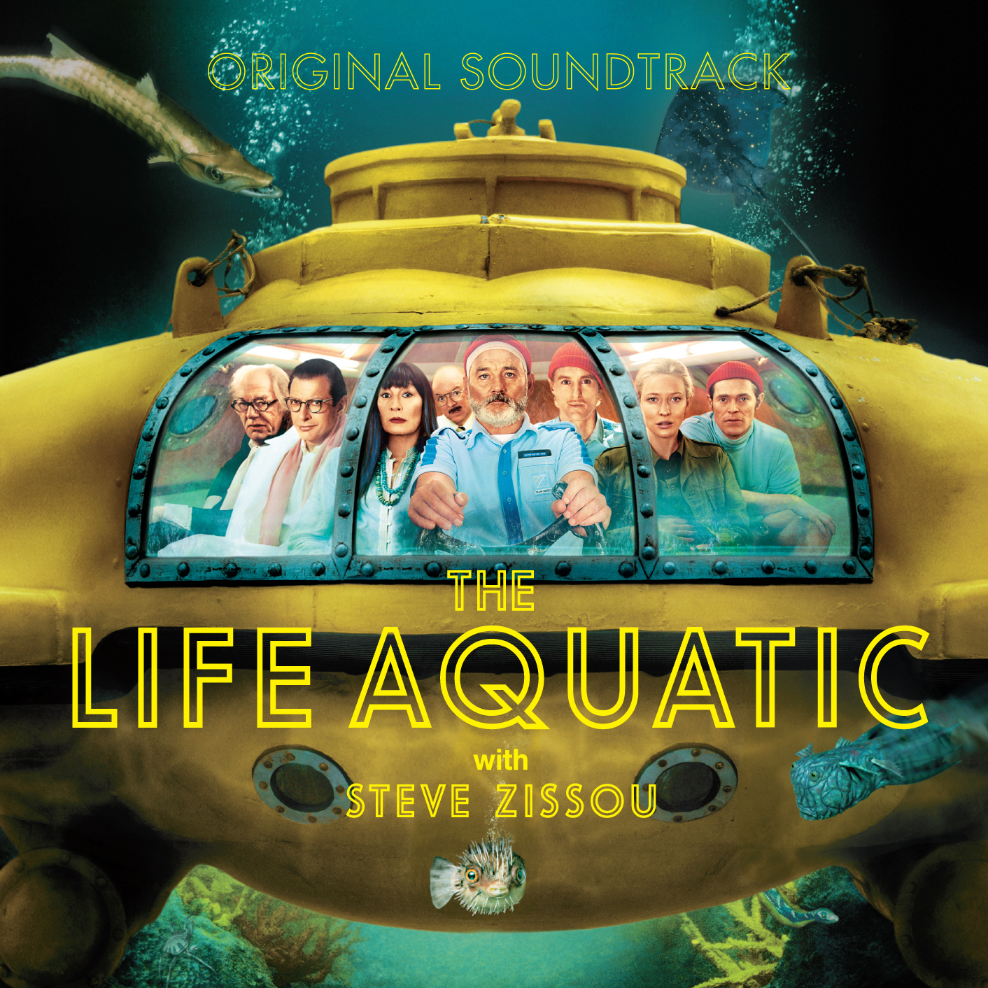Various Artists - The Life Aquatic With Steve Zissou (Original Motion Picture Soundtrack) [RSD Drops 2021]