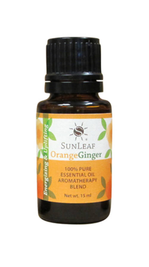 Orange Ginger 100% Pure Essential Oil Aromatherapy Blend