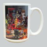 50th Anniversary Mug Kristi Abbott Design