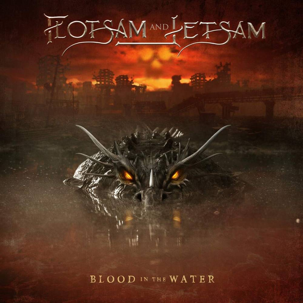 Flotsam and Jetsam - Blood In The Water [Indie Exclusive Limited Edition Clear Red LP]