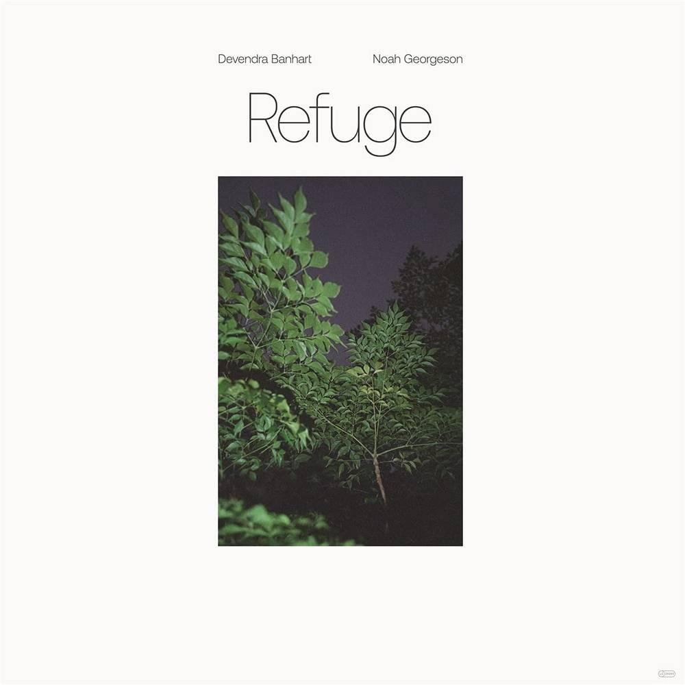 Devendra Banhart & Noah Georgeson - Refuge [Blue Seaglass Wave Translucent LP]