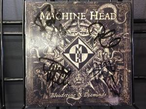 Machine Head Autographed CD Booklet