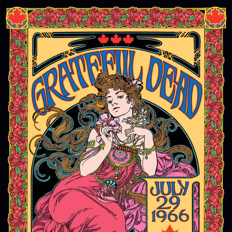 Grateful Dead P.N.E. Garden Auditorium, Vancouver, British Columbia, Canada 7 29 66