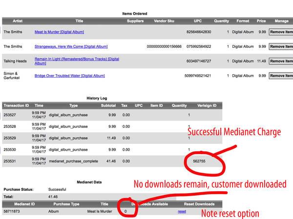 Digital Order Page