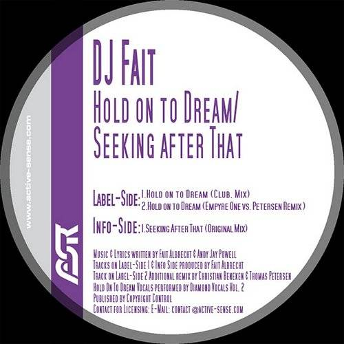 DJ Fait - Hold On To Dream/Seeking After That (6-Track Remix