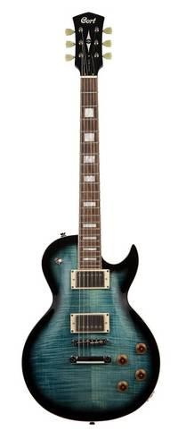 Cort - Cort CR250 Electric Guitar - Blue Burst