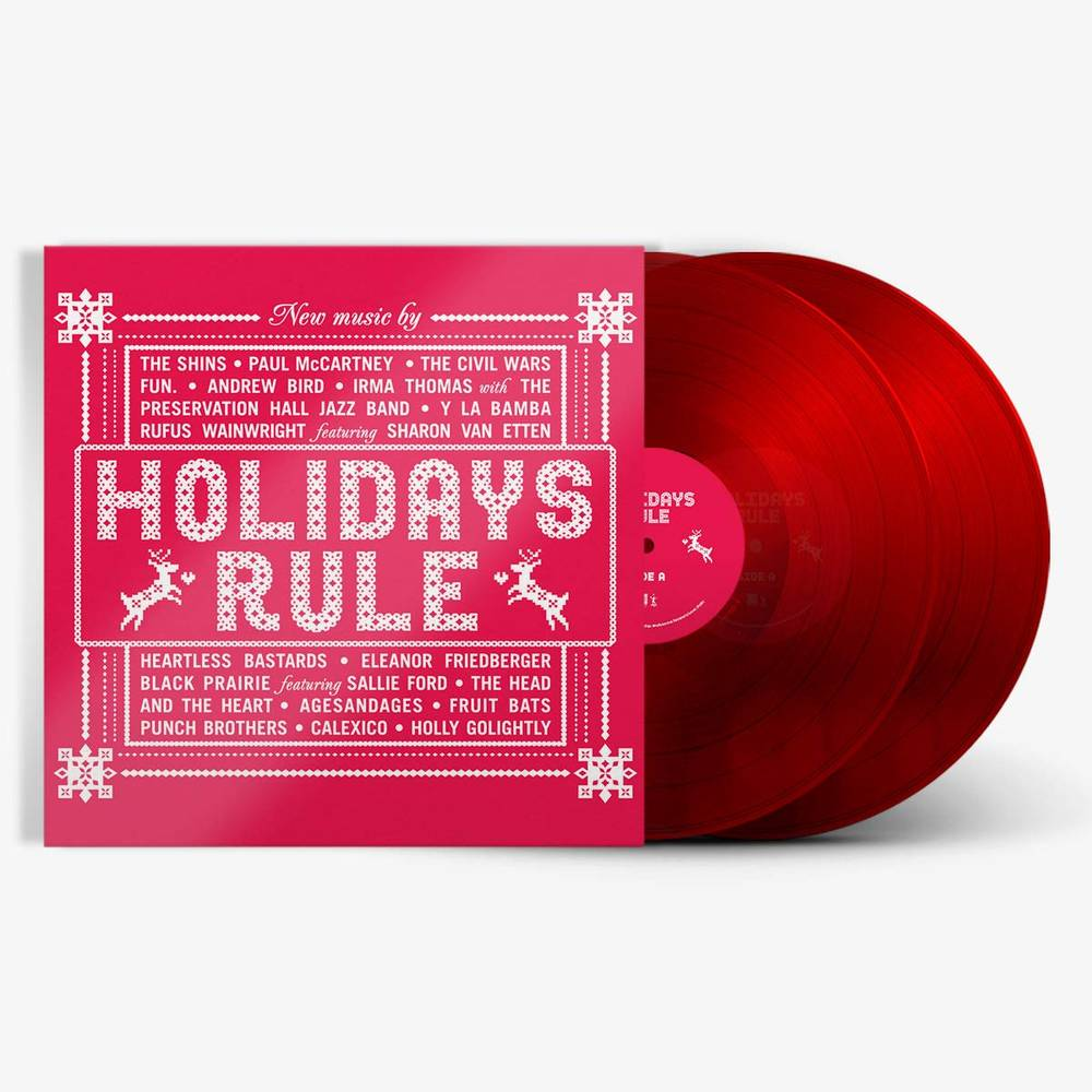 Various Artists - Holidays Rule [Translucent Red 2LP]