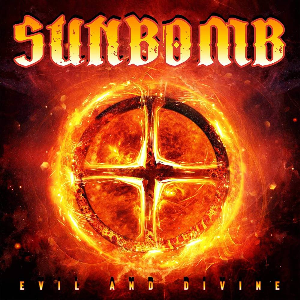 Sunbomb - Evil And Divine [Limited Edition Red LP]