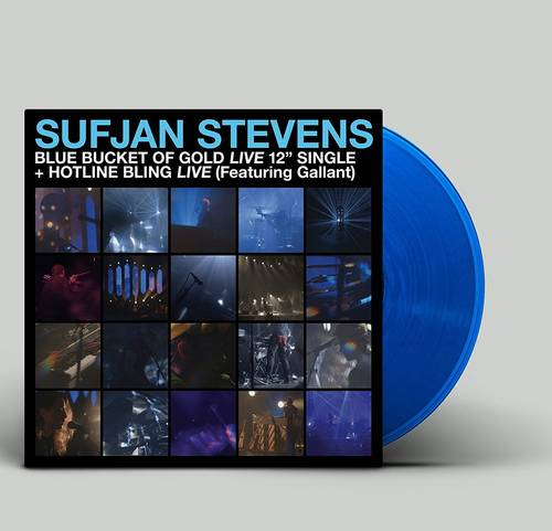 Carrie & Lowell Live [Translucent Blue Vinyl Single]