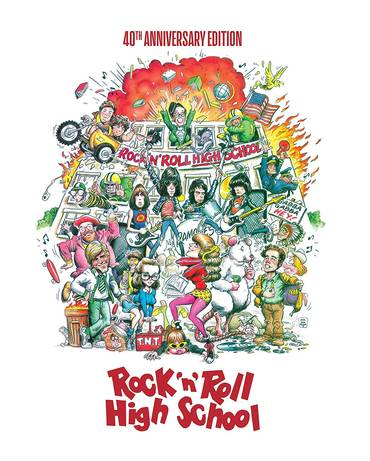 Rock 'N' Roll High School [40th Anniversary Edition Steelbook]