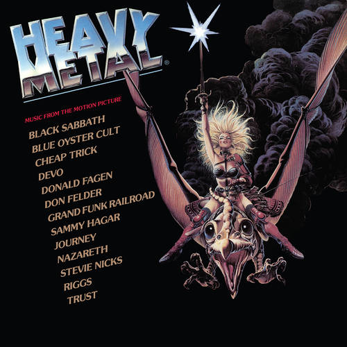 Various Artists - Heavy Metal (Music From The Motion Picture) [Rocktober 2021 Red 2LP]