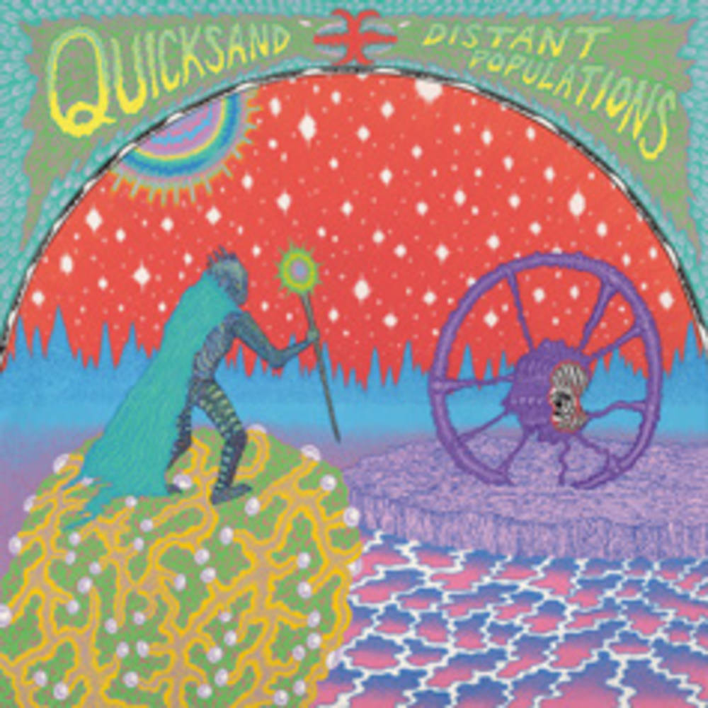 Quicksand - Distant Populations [Indie Exclusive Limited Edition Purple Cloudy LP]