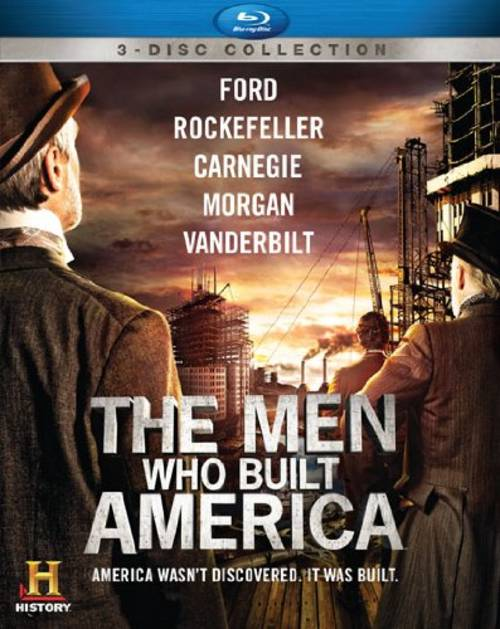 Men Who Built America (3pc) / (Ws Dts 3pk)