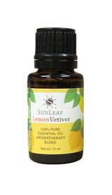 Oils - Lemon Vetiver 100% Pure Essential Oil Aromatherapy Blend