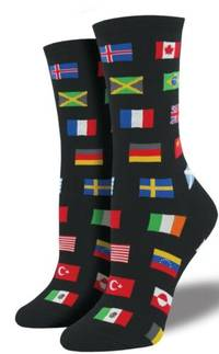 Socksmith - FLAGS OF THE WORLD