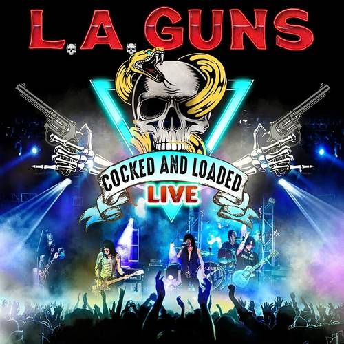 L.A. Guns - Cocked and Loaded Live [Red 2LP]