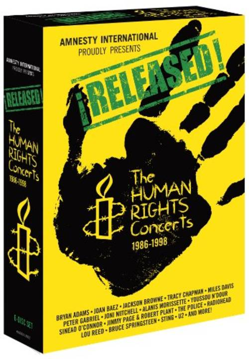 Released: The Human Rights Concerts 1986-1998 [Box Set]