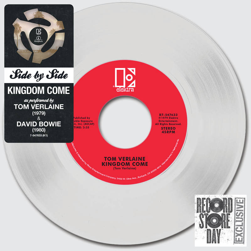DAVID BOWIE TOM VERLAINE KINGDOM COME