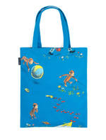 Out Of Print Tees - CURIOUS GEORGE TOTE