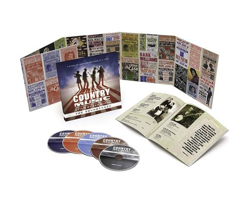 Country Music - A Film By Ken Burns (The Soundtrack) [Deluxe 5CD]