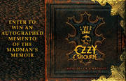 ENTER TO WIN AN AUTOGRAPHED OZZY MOMENTO