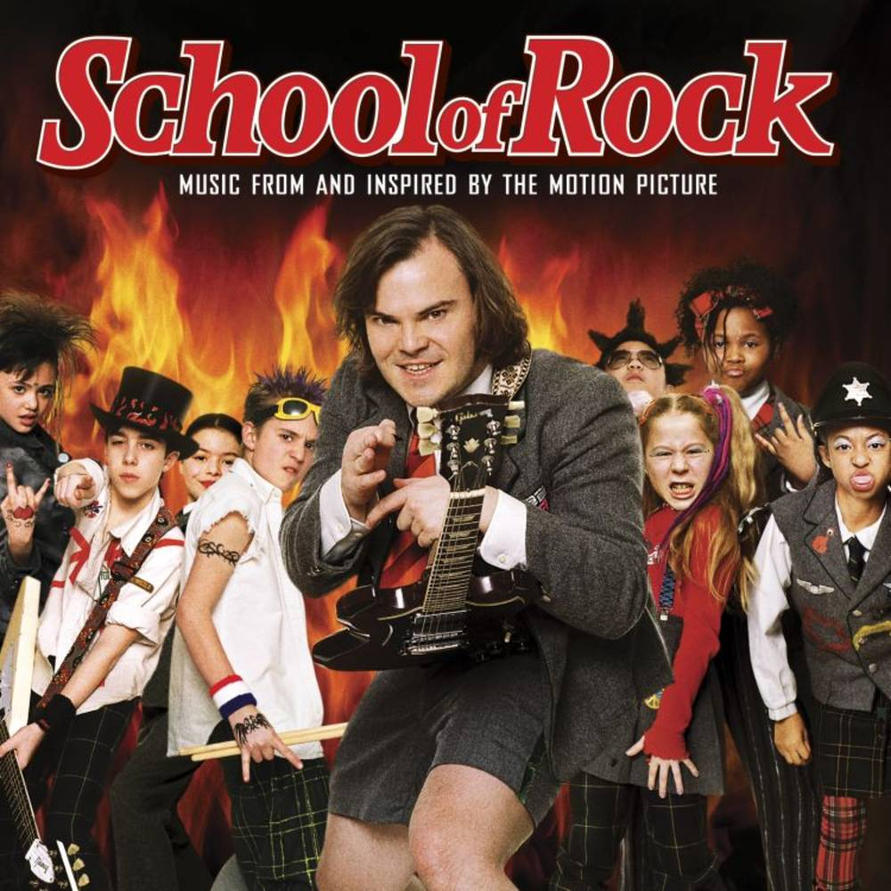 Various Artists - School of Rock (Music From And Inspired By The Motion Picture) [Rocktober 2021 Orange 2LP]