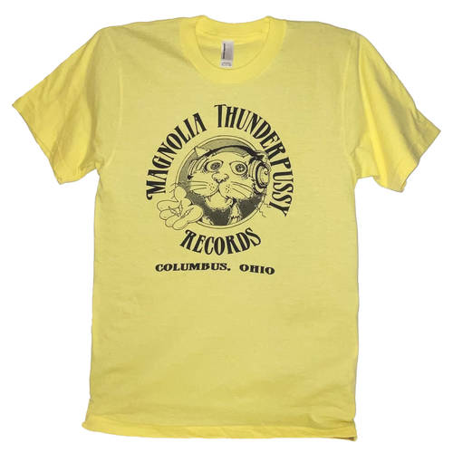 Magnolia Thunderpussy - Yellow Short Sleeve (XS)