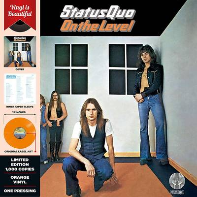 Status Quo - On The Level [Indie Exclusive Limited Edition Orange LP]